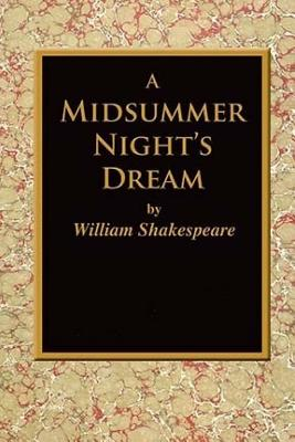 A Midsummer Night's Dream. Cover Image