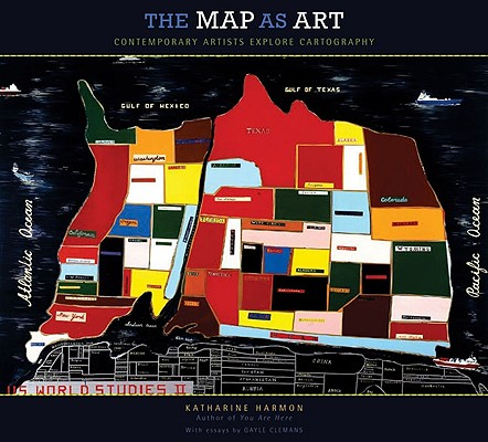 The Map as Art Cover