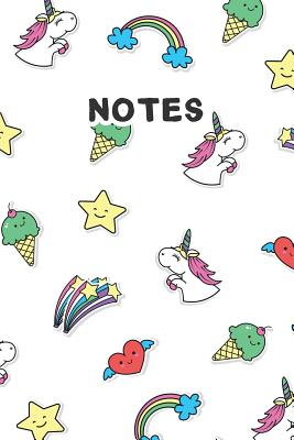 Notes: Beautiful and Cute College Ruled Notebook/Journal