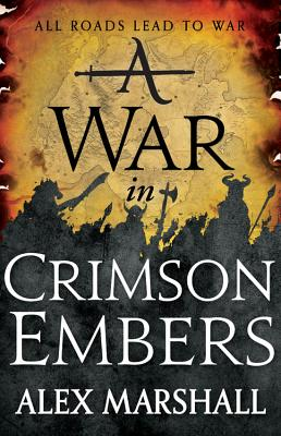 A War in Crimson Embers (Crimson Empire #3) Cover Image