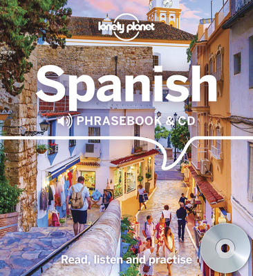Lonely Planet Spanish Phrasebook and CD 4 Cover Image
