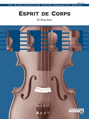 Esprit de Corps: Conductor Score & Parts Cover Image