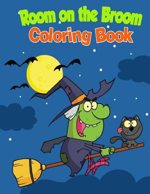 Room on the Broom Coloring Book Cover Image