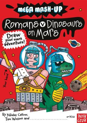 Romans vs. Dinosaurs on Mars Cover
