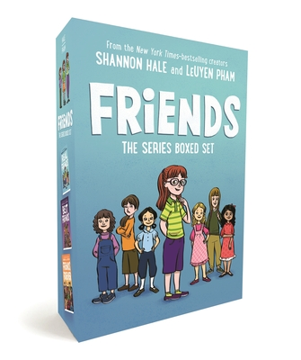 Friends: The Series Boxed Set: Real Friends, Best Friends, Friends Forever Cover Image