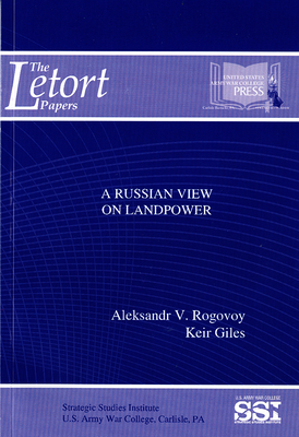 A Russian View on Landpower (The LeTort Papers) Cover Image