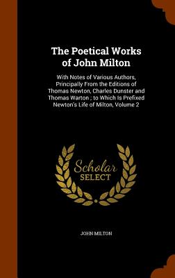 Cover for The Poetical Works of John Milton