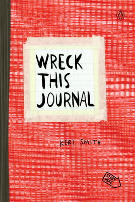 Wreck This Journal (Red) Expanded Ed. Cover Image