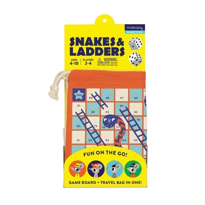 Snakes and Ladders! Travel Game Cover Image