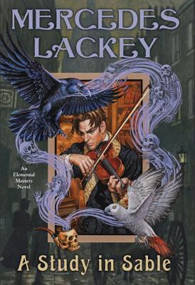 Cover for A Study in Sable (Elemental Masters #11)