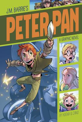Peter Pan (Graphic Revolve: Common Core Editions) Cover Image