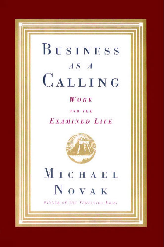 Cover for Business as a Calling