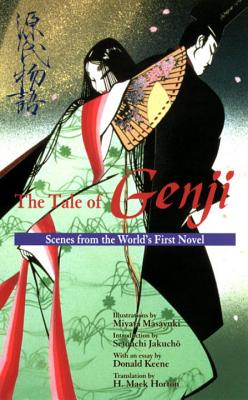 The Tale of Genji: Scenes from the Worlds First Novel Cover Image