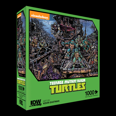 Teenage Mutant Ninja Turtles Universe Premium Puzzle (1000-pc) Cover Image