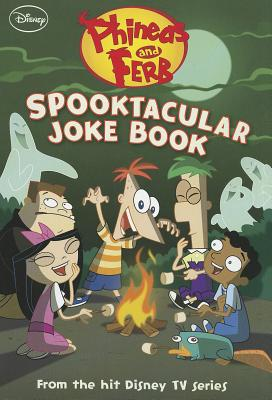 Phineas and Ferb Spooktacular Joke Book Cover Image
