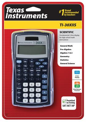 Ti30xiis Scientific Calculator [With Battery] Cover Image