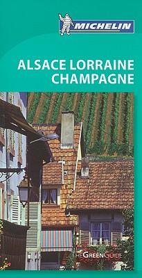 Michelin Green Guide Alsace Lorraine Champagne Cover