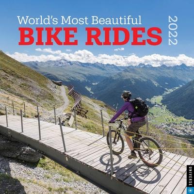 World's Most Beautiful Bike Rides 2022 Wall Calendar Cover Image