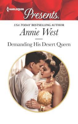 Cover for Demanding His Desert Queen