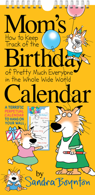 Mom's Birthday Calendar (revised edition) Cover Image