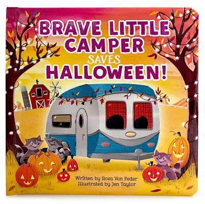 Brave Little Camper Saves Halloween Cover Image