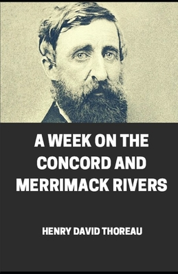 Week on the Concord and Merrimack Rivers illustrated Cover Image
