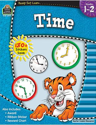 Ready-Set-Learn: Time Grd 1-2 Cover Image
