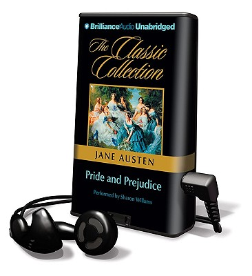 Pride and Prejudice [With Earbuds] (Playaway Adult Fiction) Cover Image