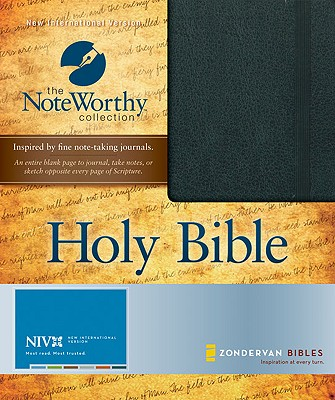 Noteworthy Bible-NIV Cover Image