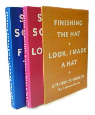 Hat Box: The Collected Lyrics of Stephen Sondheim: A Box Set Cover Image