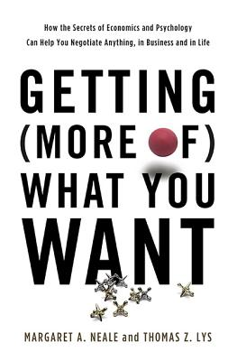 Getting (More Of) What You Want Cover