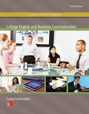 Student Activity Workbook for Use with College English and Business Communication Cover Image
