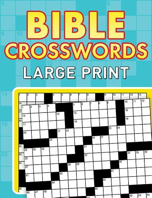Bible Crosswords--Large Print Cover Image