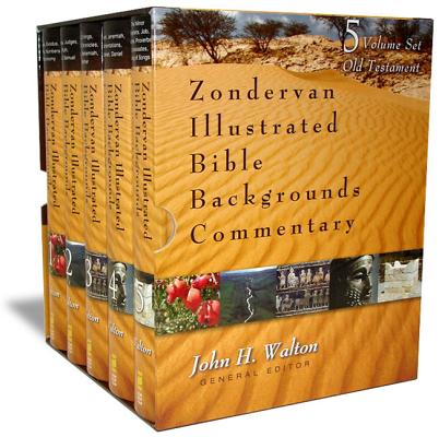 Zondervan Illustrated Bible Backgrounds Commentary Cover