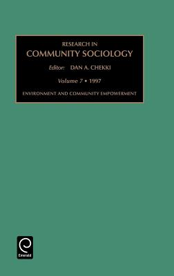 Research in Community Sociology: Environment and Community Development Vol 7 Cover Image