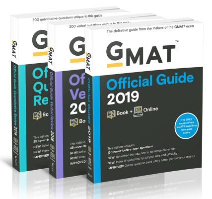 GMAT Official Guide 2019 Bundle: Books + Online Cover Image
