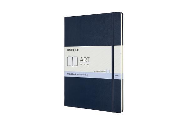 Moleskine Art Sketchbook, A4, Sapphire Blue, Hard Cover (8.25 x 11.75) Cover Image
