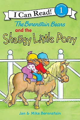The Berenstain Bears and the Shaggy Little Pony (I Can Read Level 1) Cover Image