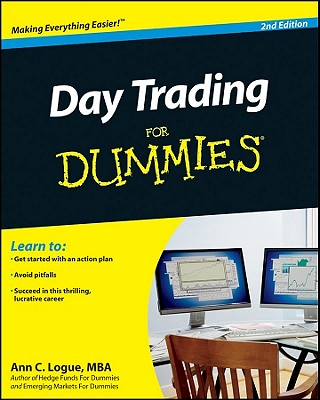 Day Trading for Dummies Cover