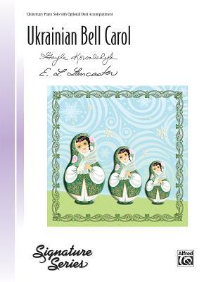 Ukrainian Bell Carol: Sheet (Signature) Cover Image