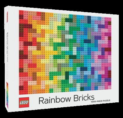 LEGO Rainbow Bricks Puzzle Cover Image