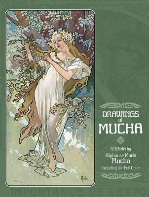 Drawings of Mucha (Dover Fine Art) Cover Image