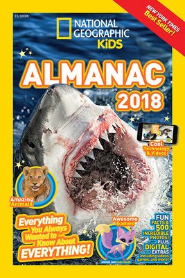 National Geographic Kids Almanac 2018 (National Geographic Almanacs) Cover Image