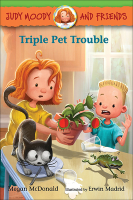 Triple Pet Trouble (Judy Moody and Friends) Cover Image