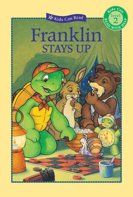 Franklin Stays Up (Kids Can Read) Cover Image