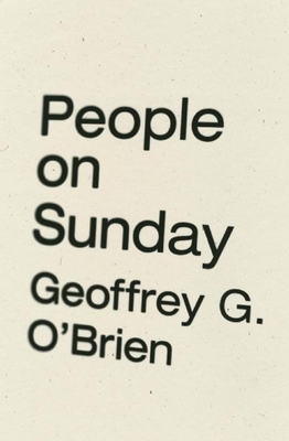 People on Sunday Cover