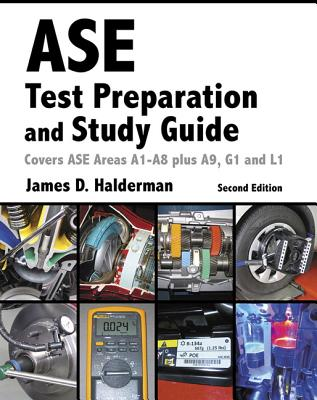 ASE Test Prep and Study Guide (Automotive Comprehensive Books) Cover Image