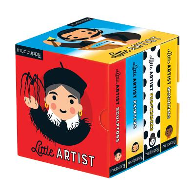 Little Artist Board Book Set Cover Image