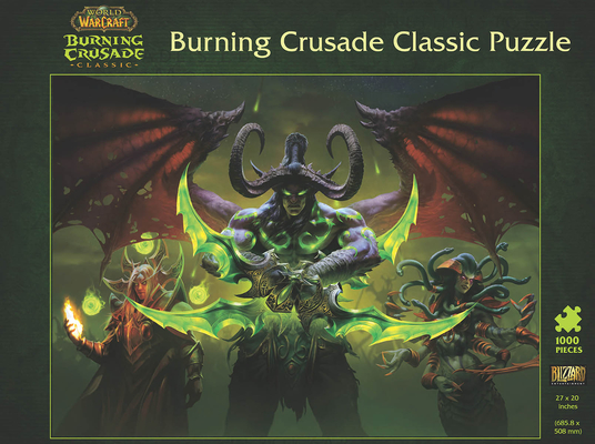 World of Warcraft: Burning Crusade Classic Puzzle Cover Image