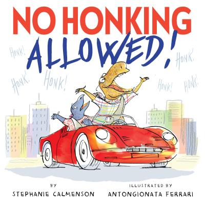 Cover for No Honking Allowed